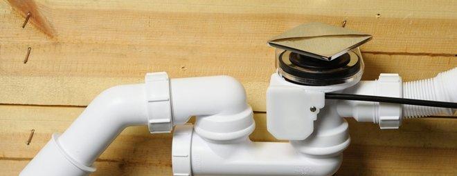 Как установить сифон в ванну