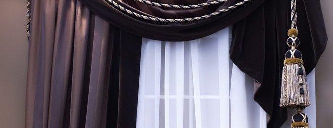 Как красиво повесить шторы