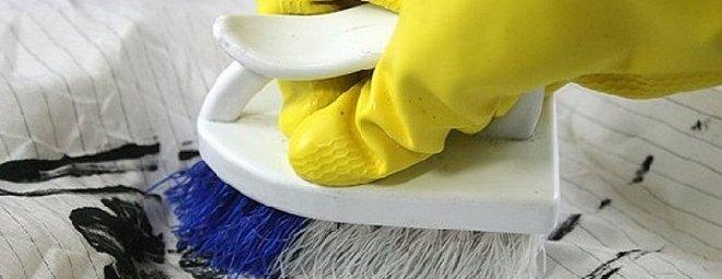 Как вывести краску с одежды