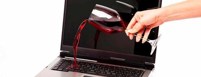 Что делать, если залил клавиатуру компьютера или ноутбука
